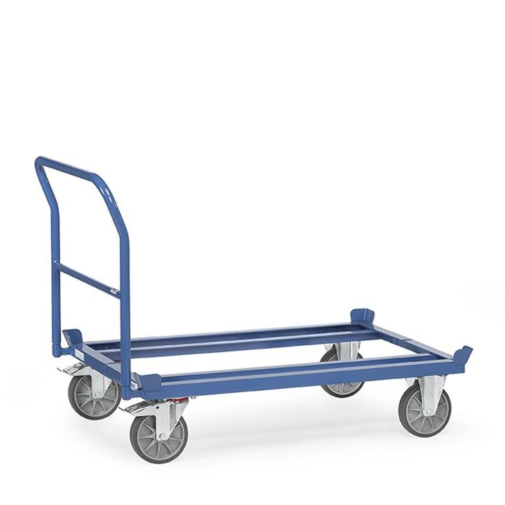Paletten- Fahrgestell mit Schiebebügel