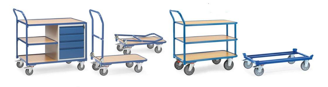 Transportgeräte für Werkstatt und Lager