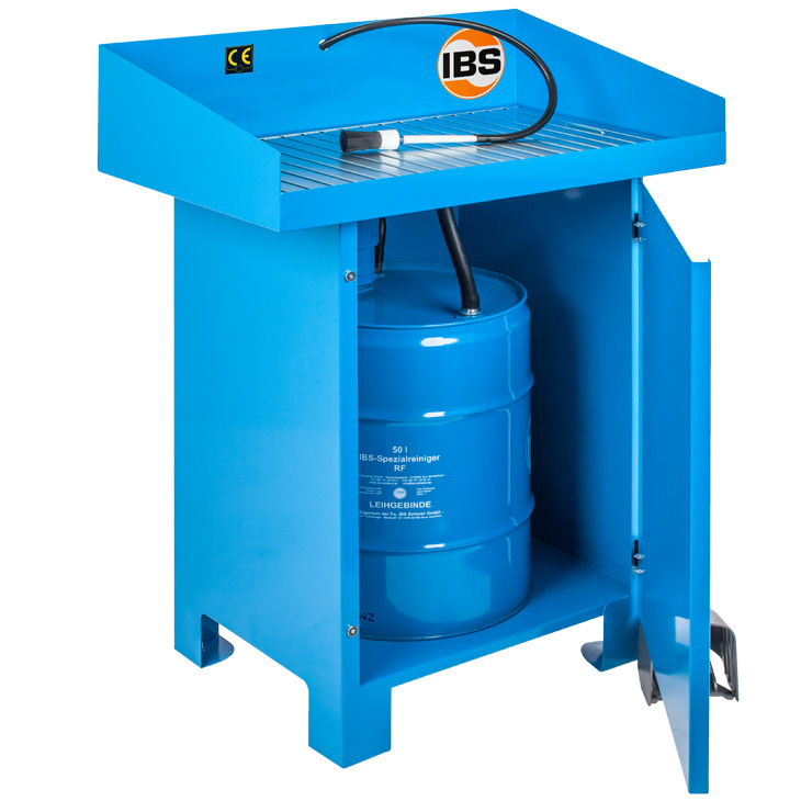 IBS-Teilereinigungsgerät Typ G-50-I_offen_seitlich Kopie